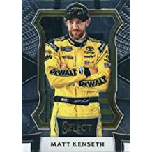 2017 Panini Select #69 Matt Kenseth DeWalt/Joe Gibbs Racing/Toyota Racing Card