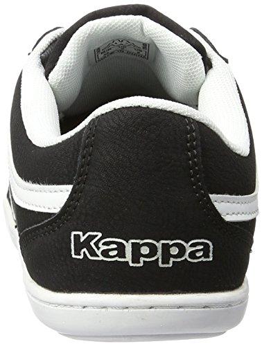 Kappa Kent Low Ii, Zapatillas para Hombre Negro (Black/white)