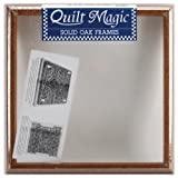 Quilt Magic 12-Inch by 12-Inch Oak Frame