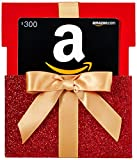 Amazon.com $300 Gift Card in a Gift Box Reveal (Classic Black Card Design)