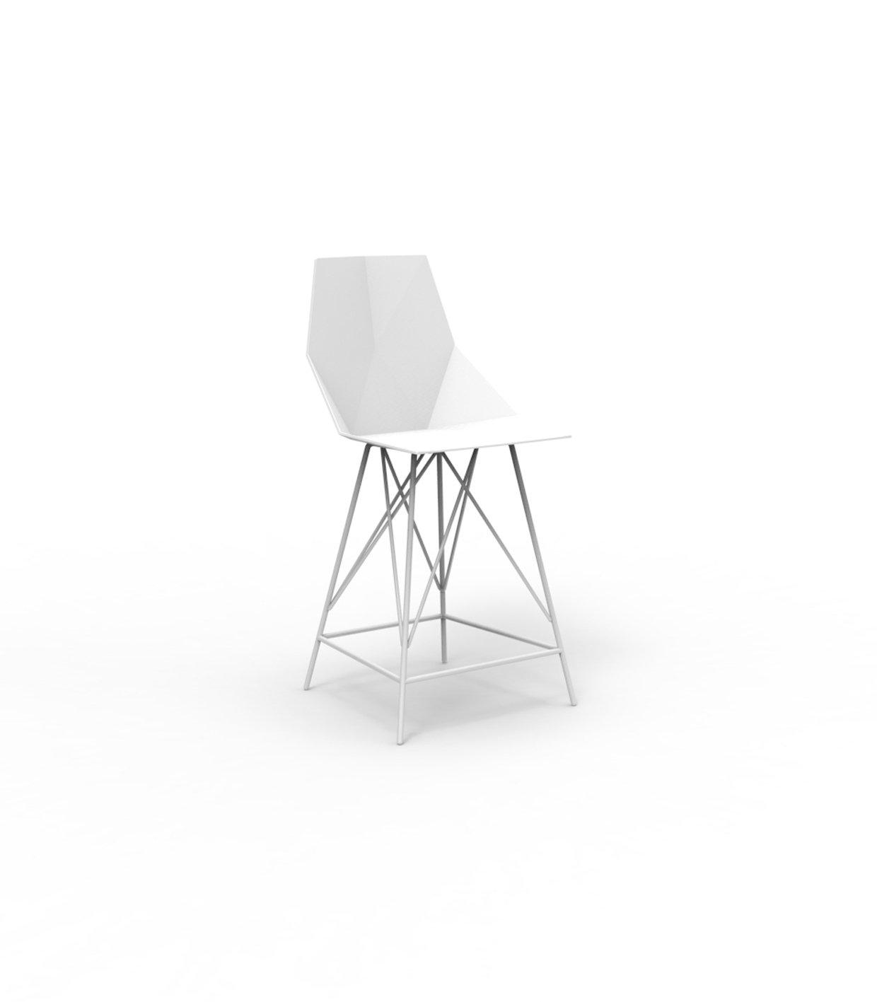 Vondom FAZ Barhocker - weiß - Höhe 102 cm - Ramón Esteve - Design - Barhocker - Gartenstuhl