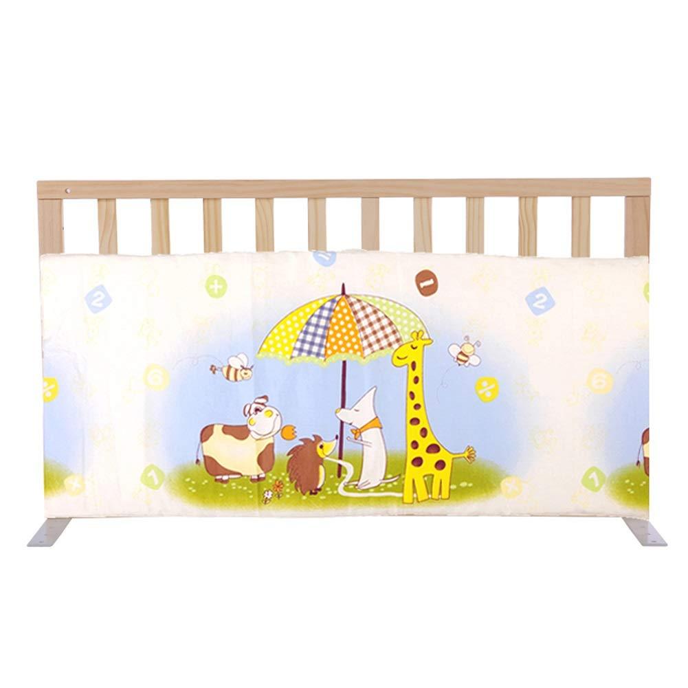 ベッドレール 子供/子供のための携帯用ベッドの柵、1.8m / 2mベッドの普遍的なのためのドアが付いている純木の赤ん坊のBedrailのまぐさ桶ガードレール (色 : Style2, サイズ さいず : 109cm) 109cm Style2 B07PLKLL3J