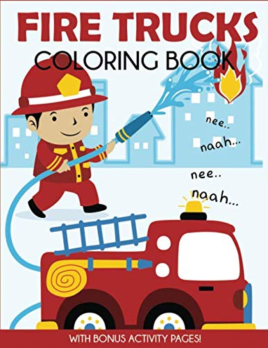 fire truck coloring book - 4