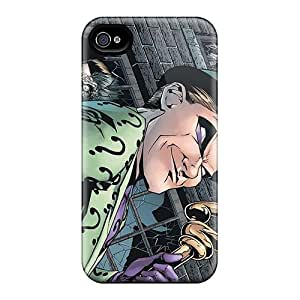 Michlles JEx1151VLLc Case Cover Iphone 4/4s Protective Case The Riddler I4