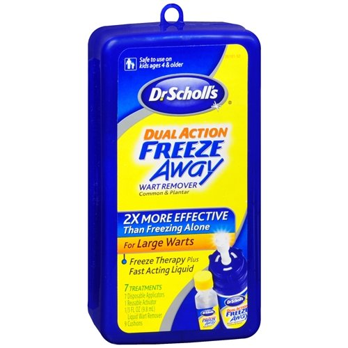 Dr. Scholl's Dual Action Freeze Away Wart Remover 1 kit (Freeze Away Large compare prices)