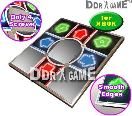 Xbox Metal Dance Pad - Dance Dance Revolution DDRgame Metal Xbox Dance Pad V 3.0