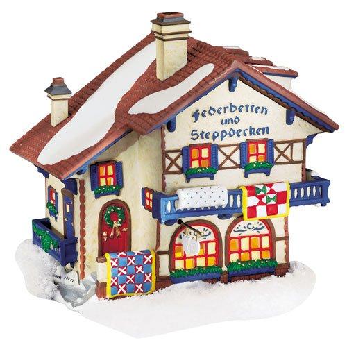 Dept 56 Alpine Village ** Federbetten Und Steppdecken ** (56.56176)