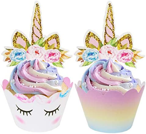 ecoZen Lifestyle Unicorn Wrappers Decorations product image