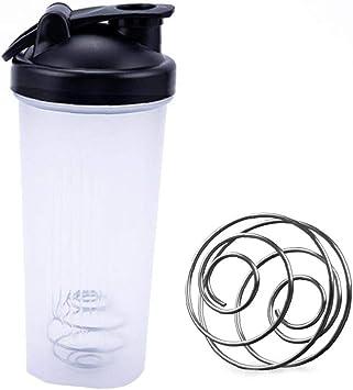 La Proteína De La Botella De La Coctelera Con Air-tight Snap-lock Cierre La Botella De Agua a Prueba De Fugas Portátil Deportes Shaker Shaker Botellas ...