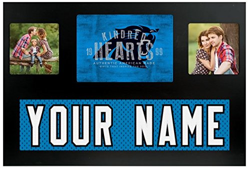 Carolina Panthers NFL Custom Jersey Nameplate and Logo Picture (Nfl Carolina Panthers Heart)