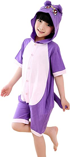 LaBelle-H Unisexo Kigurumi Pijamas Para Niño Niña Disfraces ...