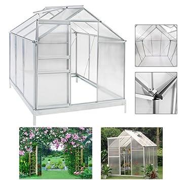 Serre de jardin à semis HG® en aluminium de qualité supérieure ...