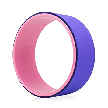Amazon.com: Pilates Circle Roller Ring Body-Shaping Stretch ...