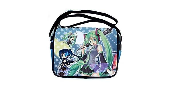 Amazon.com: Meilaier Hatsune Miku Shoulder Bag Japanese ...