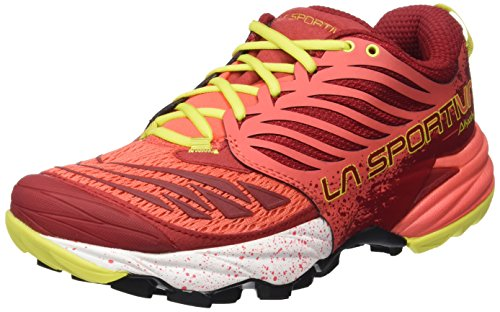 Women Sportiva La nbsp;Shoes Akasha Berry Rojo for Women nbsp;– Akasha xXfX4F