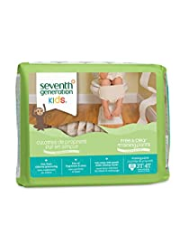 Seventh Generation Baby & Toddler Training Pants, Free & Clear, Large Size 3T-4T 32-40lbs, 22 Count (Pack of 4) BOBEBE Online Baby Store From New York to Miami and Los Angeles