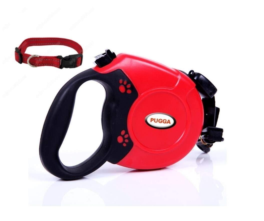 pugga Retractable Dog Leash for Medium and Small Dogs.