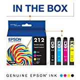 Epson T212 Claria Standard Capacity Cartridge Ink - Black and Color Combo Pack
