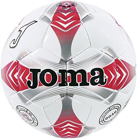 Joma - Balon Egeo 4 Blanco-Rojo-Gris: Amazon.es: Deportes y aire libre