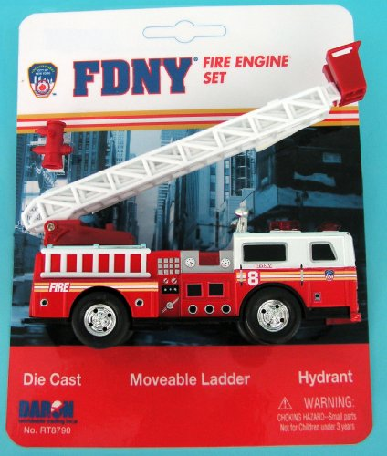 - Daron FDNY Ladder Truck Playset