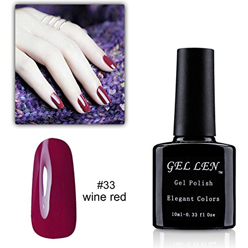 Gellen Best Sell 30 Colors Series UV Gel Nail Polish, 1pc 10