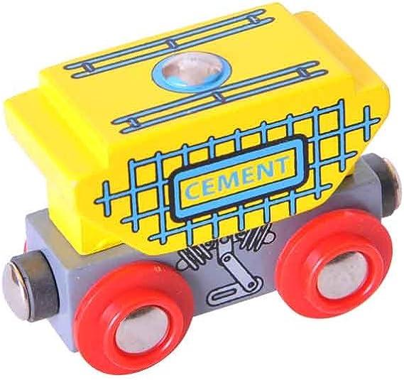 Bigjigs Toys BJT161 Pack of 6 Bigjigs Rail Buffers