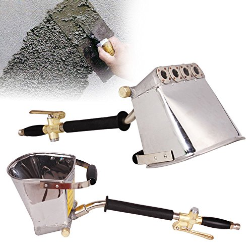 Cement Mortar Concrete Air Stucco Hand Plastering Sprayer Hopper Paint