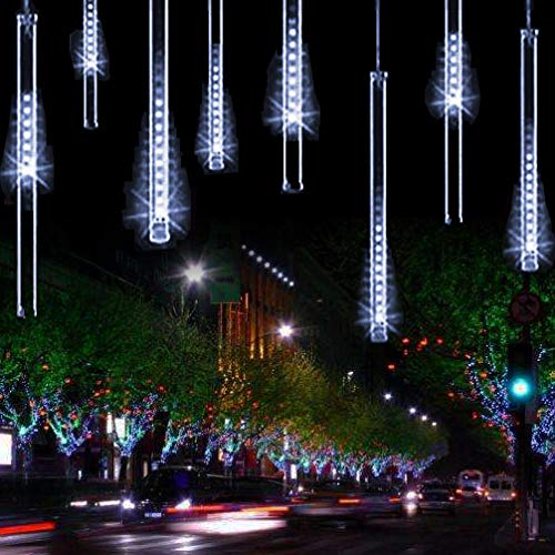 2 ysim meteor shower rain lightstwinkling romantic lights for party wedding christmas