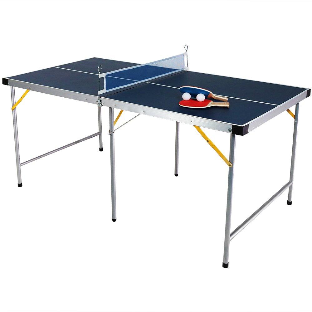 [サニーデイズデコール]Sunnydaze Decor Sunnydaze 60 Inch Table Tennis Table DQ-T017 [並行輸入品] B01LW48VLU