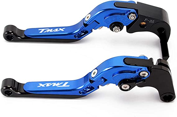 /2013//T-Max 500/2008/2009/2010/2011//TMAX 530/2012/13/14/15/16/17/2018 Coppia di leve lunghi in alluminio anodizzato per scooter Yamaha Majesty 400/2009/