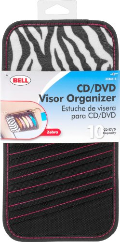 Bell Automotive 22-1-33868-8 Zebra CD Visor