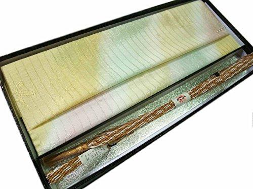 帯締め 帯揚げ セット 夏物 正絹 平組 oo395