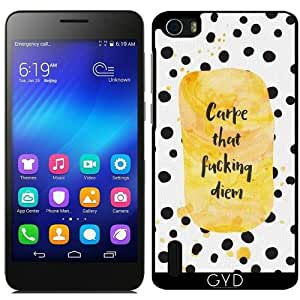 Funda para Huawei Honor 6 - Carpe Diem Que Mierda by Asmo