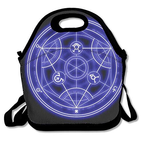 Fullmetal Alchemist Lunch Bag Cute Lunch Bag, Big Lunch Bag For Adults