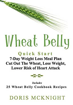 Wheat Belly: Quick Start 7-Day Weight Loss Meal Plan: Cut Out The ...