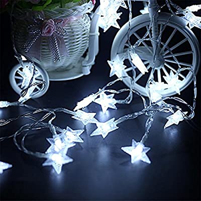 GPCT Crystal Clear Star Fairy String Light