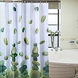 Riverstones Waterproof Polyester Shower Curtain Bathroom Decor