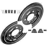 APDTY Wheel & Brake Dust Shields