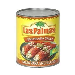 Las Palmas Enchilada Sauce Chile Medium, 28-Ounce (Pack of 6)