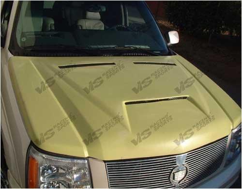 VIS 02-04 Cadillac Escalade Fiberglass Hood OUTLAW 1 03