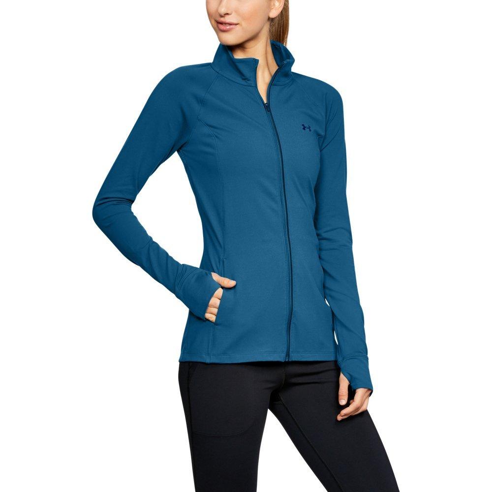 Under Armour Women's Zinger Full Zip, Moroccan Blue (487)/Moroccan Blue, Large by Under Armour