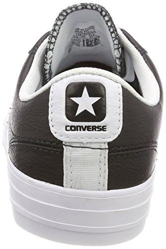 Converse Unisex-erwachsene Star Player Bue Nero Bianco Fitnessschuhe Schwarz (nero / Bianco / Bianco 083)