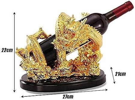 HJXSXHZ366 Estantería de Vino Estante del Vino, Soporte de exhibición del Vino, Vino de Resina Marco del Bastidor encimera for la Barra/de la Familia Estante de Vino pequeño
