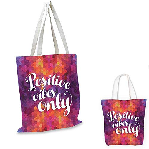 - Purple Colorful Mosaic shopping bag storage pouch Art Decor Funny Inspirational Quotes Ideas Positive Thinking Positive Vibes small tote shopping bag Yellow Orange Pink Blue Red. 12
