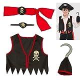 Amscan Costumes USA Pirates Child Kit