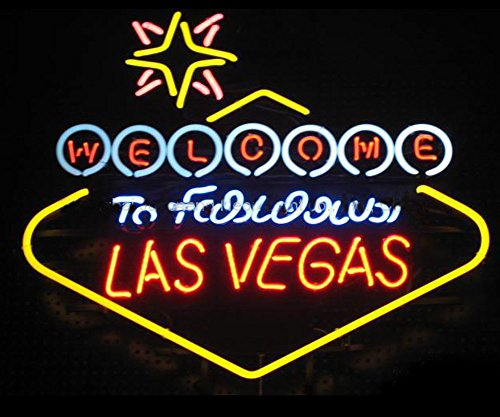 iecool Welcome to LAS Vegas Neon Sign 20