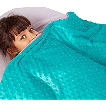 Amazon Com Snuggle Pro Weighted Blanket For Kids 7 Lbs