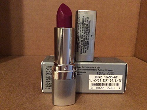 Avon Beyond Color Lipstick Spf 15 Sunscreen Berry Cute