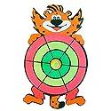 子供たちダーツボードおもちゃ漫画ダーツボード 虎