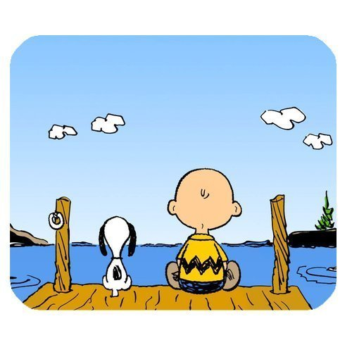 Generic Cute Cartoon Peanuts Snoopy Non-Slip Rubber Mousepad Rectangle Mouse Pad (Home Made Mouse Costume)